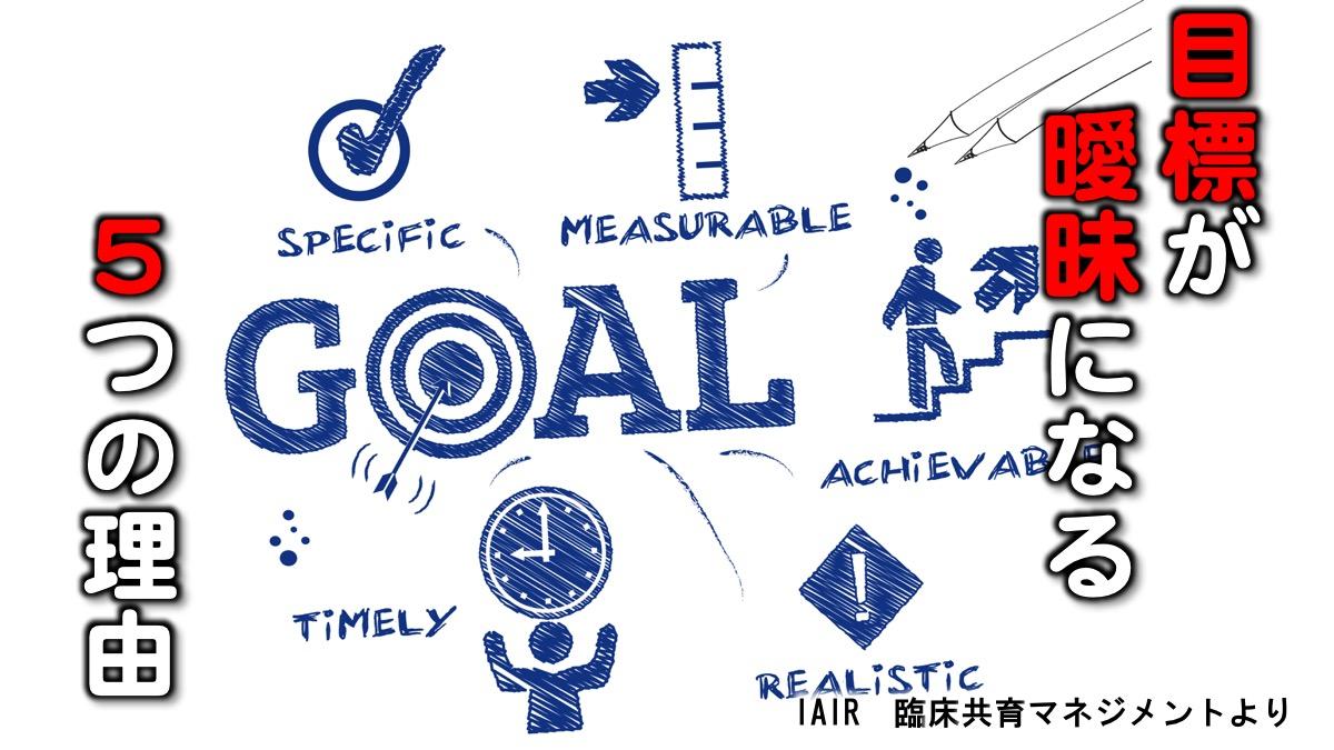 統合と解釈 目標設定