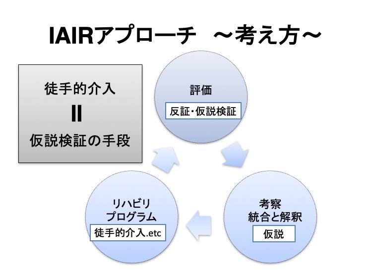 IAIRアプローチの考え方